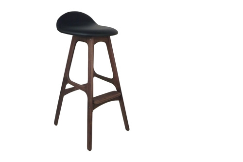 Wood And Leather Home Bar Stools Erik Buck Mid inside Wood And Leather Bar Stools