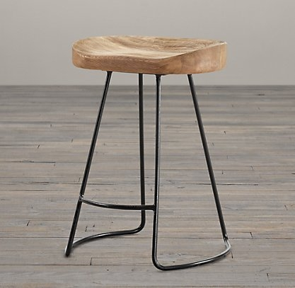 1000 Ideas About Metal Stool On Pinterest Fine Furniture regarding Wood And Metal Bar Stools