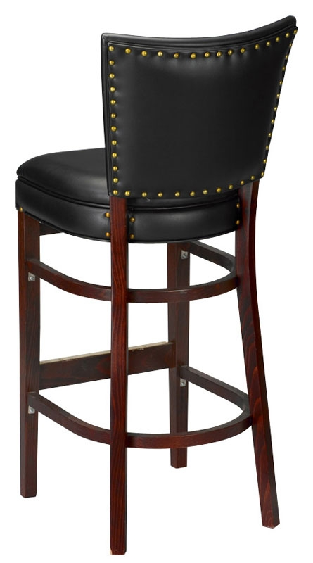 Wood Bar Stool 2420 throughout The Brilliant  commercial wood bar stools intended for Invigorate