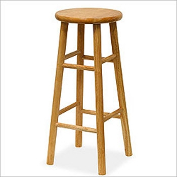 Wood Bar Stools Discount Wooden Amp Unfinished Barstools for Wood Bar Stool