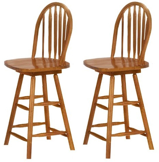 Wood Bar Stools With Backs Whereibuyit regarding Wood Swivel Bar Stool