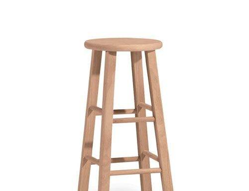 Wood Rounds Unfinished Wood And Stools On Pinterest intended for cheap wooden bar stools pertaining to House