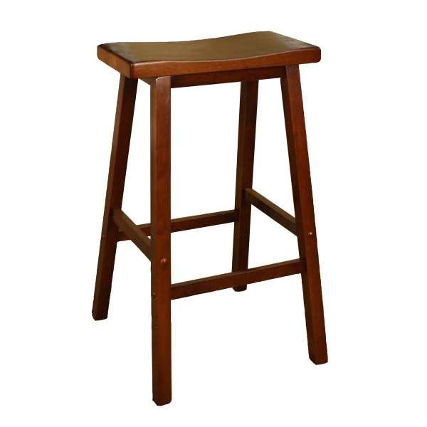 Wood Saddle Walnut in The Most Brilliant  saddle style bar stools pertaining to Inspire