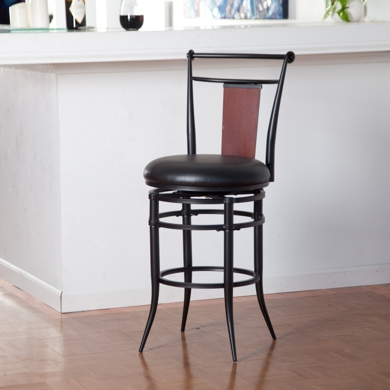 Wood Swivel Bar Stools Canada Archives Bar Stools Dream Designs throughout Black Swivel Bar Stools With Back