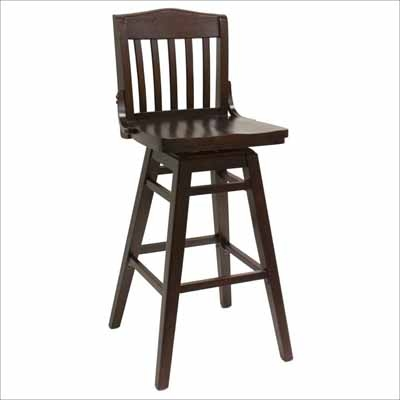 Wooden Bar Stools With Backs Back Wood Seat Swivel Stool Modern in Oak Swivel Bar Stools With Back