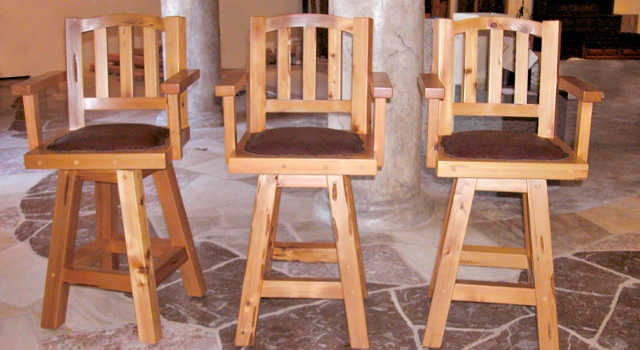 Wooden Swivel Bar Stools Best Bar Stools Made Of Wood in swivel bar stool with arms with regard to Home