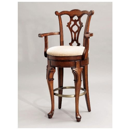 Wooden Swivel Bar Stools With Arms Swivel Bar Stools Stools intended for Wood Swivel Bar Stools