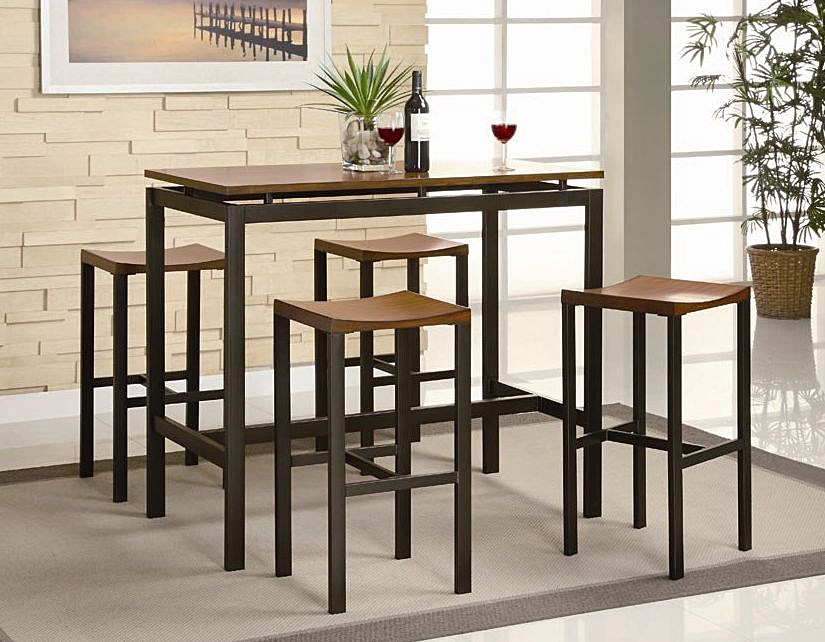 Wooden Theme Ideas On Bar Table And Stools pertaining to Stylish as well as Gorgeous bar table and stools with regard to Invigorate
