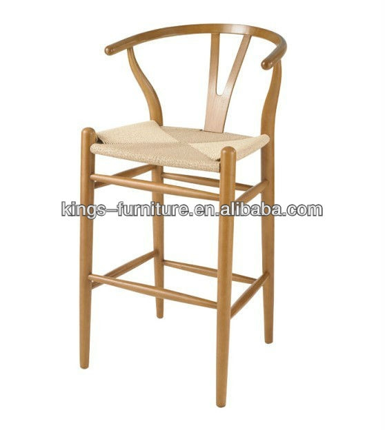 Wooden Wishbone Barstool Wooden Wishbone Barstool Suppliers And inside wishbone bar stool pertaining to Residence