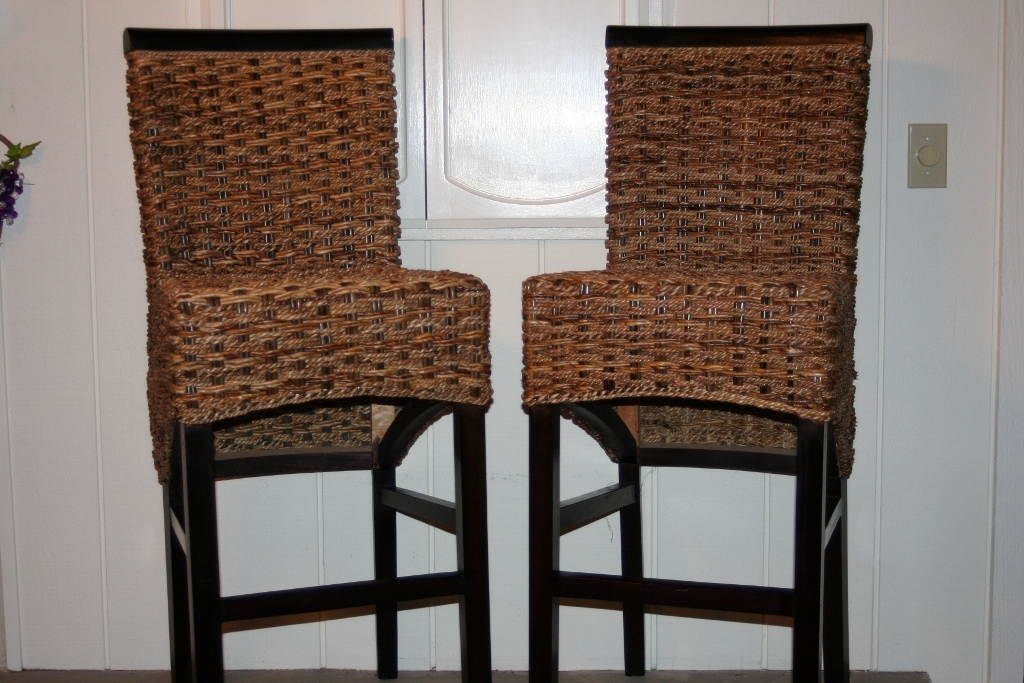 Woven Seagrass Bar Stools regarding The Most Amazing  seagrass bar stools pertaining to Inviting
