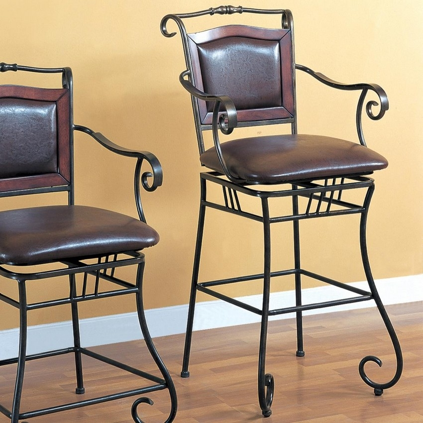 Wrought Iron Bar Stools Loticmarketing throughout wrought iron bar stools with regard to Property