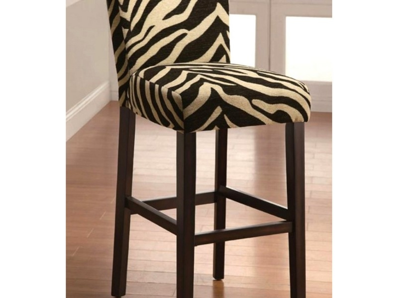 Zebra Print Bar Stools In Brown Home Design Ideas inside The Most Amazing  animal print bar stools regarding Cozy