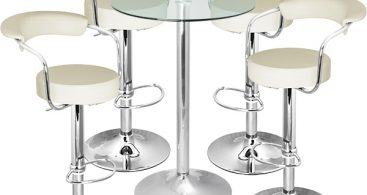 Zenith Bar Stool And Vetro Table Set Cream Buy Exhibition with regard to The Most Elegant along with Attractive bar stool set with regard to  Property