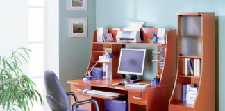 Best Modern Blue Office Chair Decoration For Contemporary Home Office Design