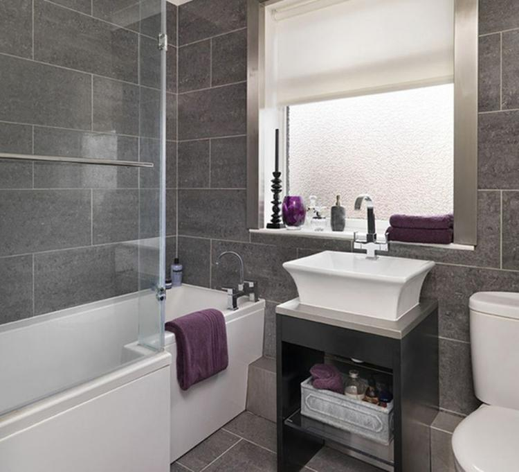 appealing minimalist white and grey bathroom remodel  60
