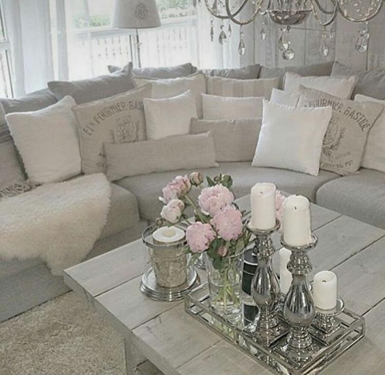 Shabby Chic Living Room Decor.  Cozy Shabby Chic Living Room Decorations 28 Best Ideas For You
