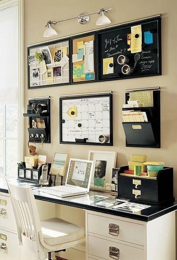 30+ cool and thoughtful home office storage ideas