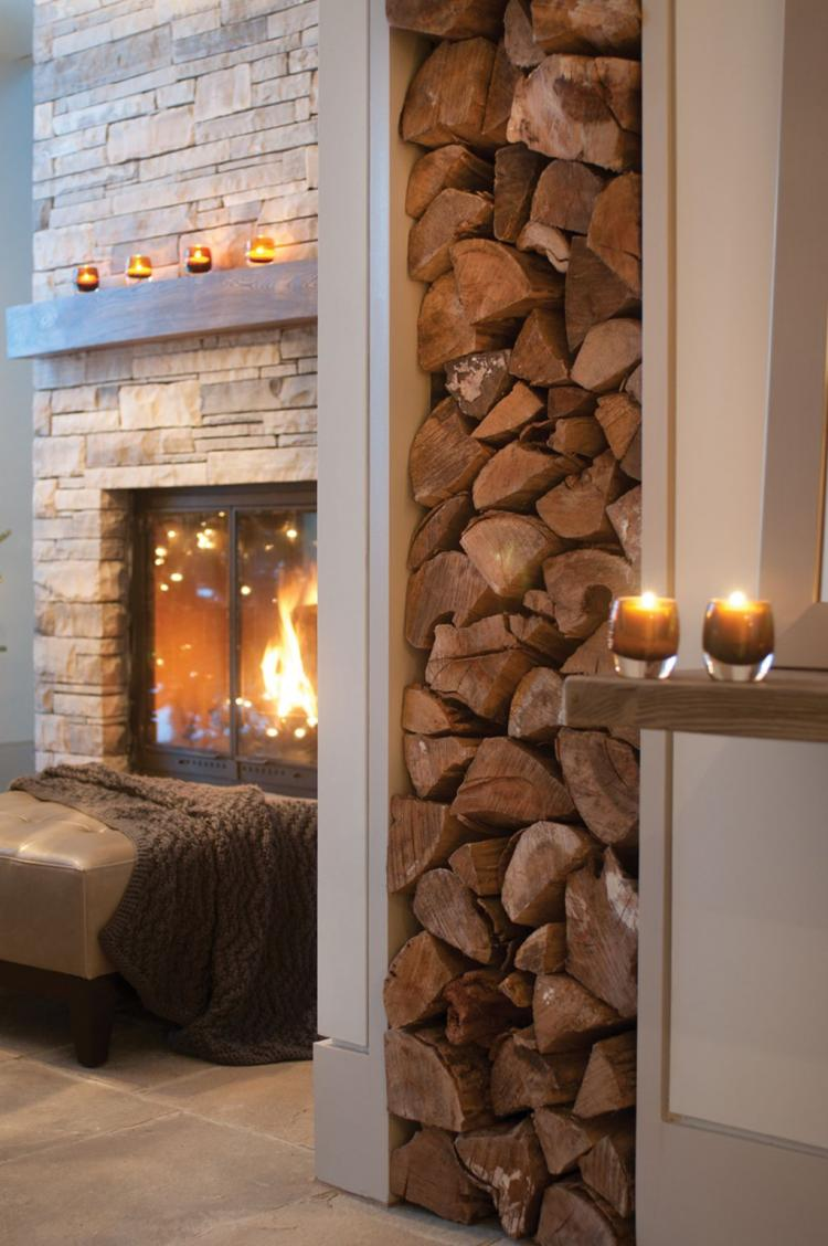 Creative Firewood Storage Ideas For Your Living Room ...