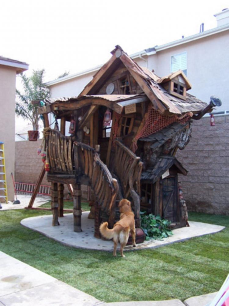 Hawaii Slanted House Design: 20+ Best Crooked Tree House Design For Fun Children