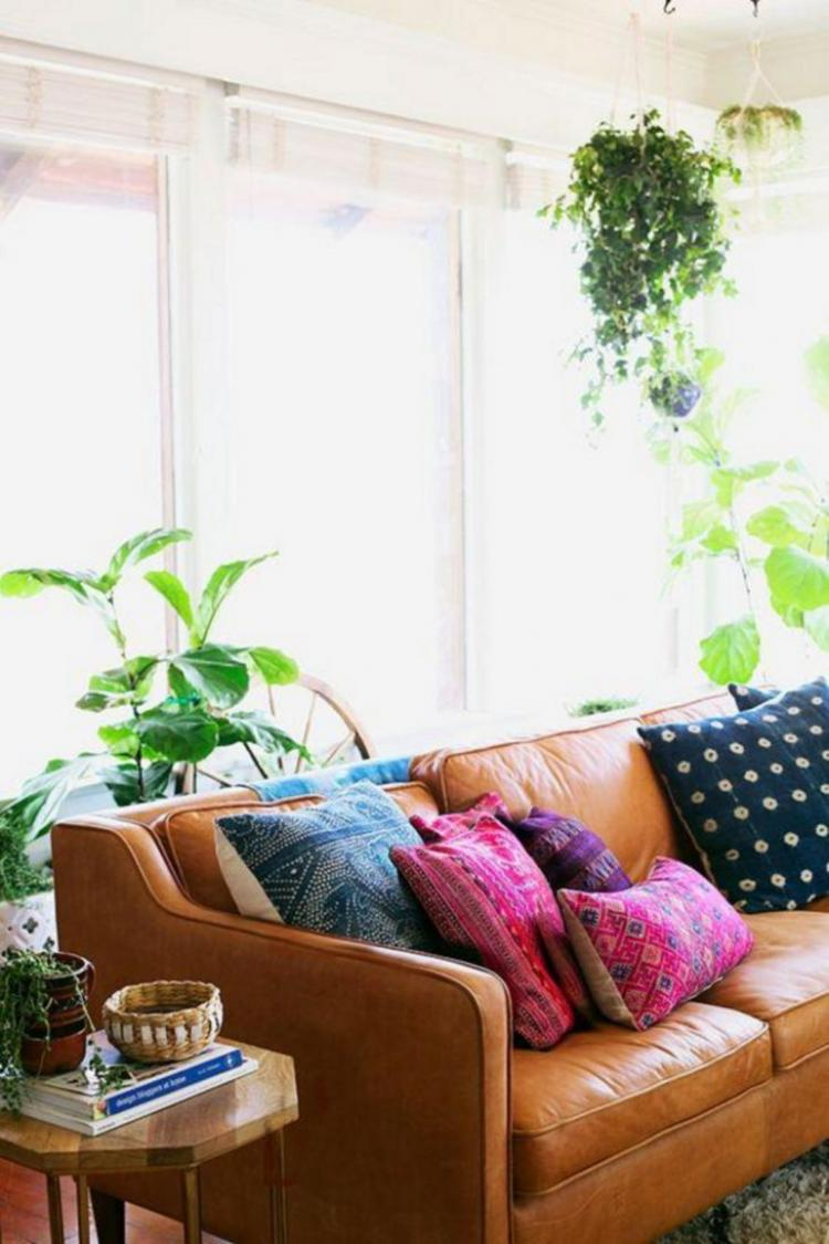 30+ Colorful Bohemian Living Room Ideas For Inspiration ...