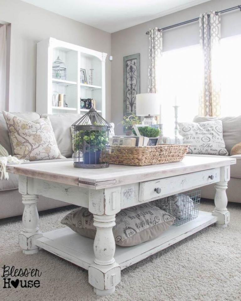 25 Awesome Living Room Design Ideas On A Budget: Awesome Rustic Farmhouse Living Room Decor Ideas